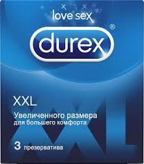 <b>Дюрекс презервативы xxl 3</b> шт. купить по выгодным ценам АСНА