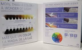 Wella Underlying Pigments Chart Wella Professionals Illumina Hair Color Swatch Book Binder