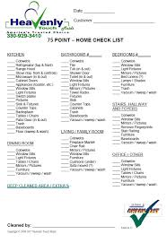 cleaning checklist professional maid service deep cleaning to weekly cleaning