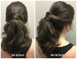 Fancy Hair Design Fancy Pony Tail Style For The Bridal Attendant Hair Design