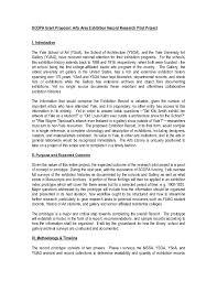 Art Proposal Template Art Project Proposal Template RESUME 16