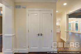 custom wood interior doors closet double door