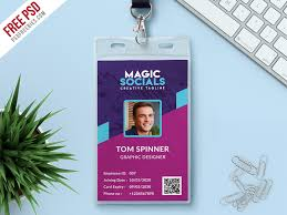 Identity Card Design Office Identity Card Free Psd By Psd Freebies Dribbble Dribbble