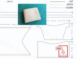 leather wallet pattern pdf