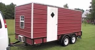 utility trailer camper