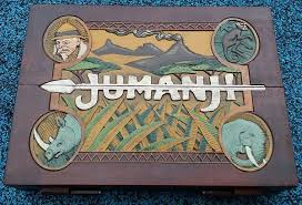 Jumanji Wooden Board Game Jumanji Board Game 100% Screen Accurate Prop Replica 94