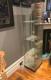ikea glass cabinet exploded