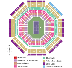 Indian Wells Tennis Seating Chart Indian Wells Tennis Garden
