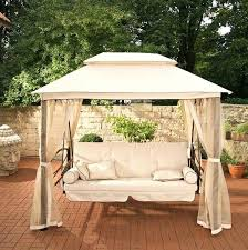 new patio swing cover for furniture patio swing canopy replacement semi circle outdoor powder coat steel elegant patio swing cover