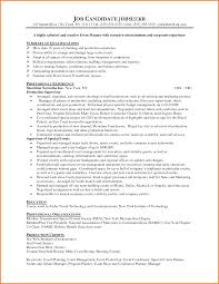Event Management Resume Format Free Resume Example And Writing