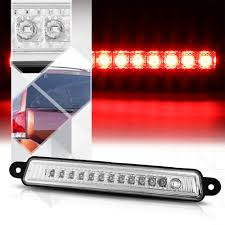 Brake Light On Nissan Armada Details About Chrome Housing Clear Lens Led Third 3rd Brake Light For 04 15 Nissan Armada Qx56