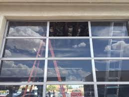 Commercial Garage Door Window Replacement