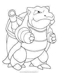 Small Picture Mega Blastoise Coloring Pages GetColoringPagescom