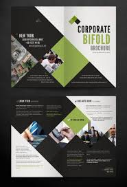 Sample Bi Fold Brochure Two Fold Brochure Template Psd Best Samples Templates 1