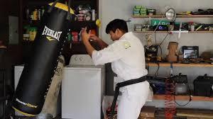 karate drills bag work for kata