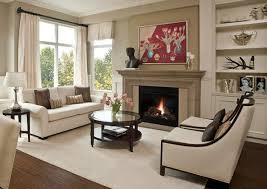 enchanting small living room with fireplace easy home decor