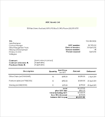 Free Professional Invoice Template