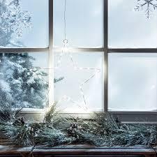 Details Zu 30er Led Stern Fenster Licht Deko Weihnachts Beleuchtung Batterie Innen 23cm