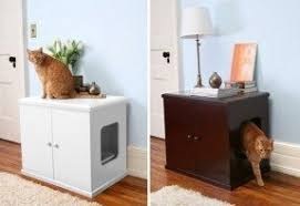cat litter box furniture diy. interesting cat diy hidden kitty litter box furniture discovered on throughout cat litter box furniture diy b
