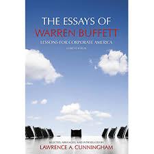 origins and value of the essays of warren buffett lessons for  buffett cover for blog