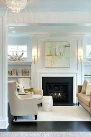 color palette sconces beautiful art above simple mantle fireplace nouveau