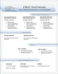 2007 Word Resume Template Resume Templates Microsoft Word 2007 Free Download Resume Resume