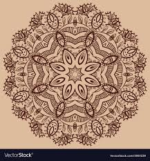 Henna Pattern Mesmerizing Henna Pattern Backgrounds Royalty Free Vector Image