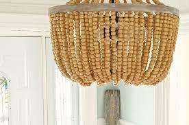 new diy beaded chandelier tutorial