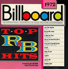 Billboard Top R B Hits 1972