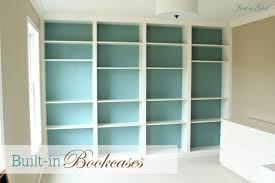 Built In Bookshelf Ideas Admirable Living Room Shelves And Bookcases Artwork Design Living