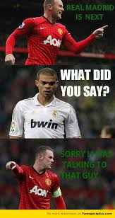Manchester United vs Real Madrid Memes | Funny Pictures via Relatably.com