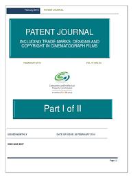 February 2014 - Part 1 of <b>2</b> | Trademark | Adhesive