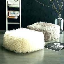 fur rug faux sheepskin lamb throw blanket white mongolian grey sheep