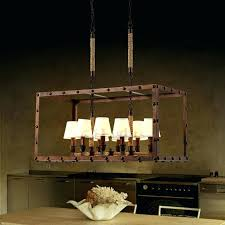 french iron charles chandelier chandeliers home french iron rectangular french iron charles rectangular chandelier 8 light