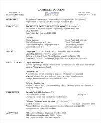 Sample Resume For Software Engineer With 2 Years Experience Resume Sample Software Engineer Sample Software Developer Resume