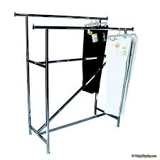 garment rack double rail rack with z brace