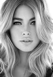we love the contrast of doutzen kroes blonde hair and dark brow very striking don t you think we offer brow tinting to help you get this look