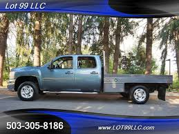 Pickup 99 chevy pickup : 2007 Chevrolet Silverado 3500 LTZ DURAMAX 4X4 6.6L FLATBED for ...