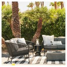 Black And White Patio Furniture Collection Tar