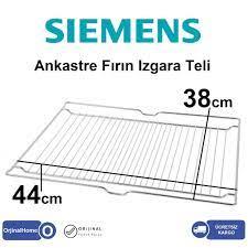 Siemens Ankastre Fırın Izgara Teli / Grill wire 44x38cm Fiyatları ve  Özellikleri
