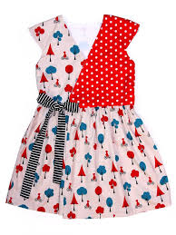 Baby Girl Dress Patterns Adorable Tessa Girls Wrap Dress Sewing Pattern TREASURIE My Childhood