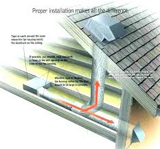without attic access install bathroom fan install bathroom fan installation exhaust wall small creative design vent how to install