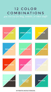 12 Color Combinations | Design color, Color combos and Compliments