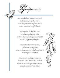 Godparents Poems
