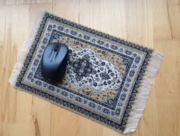oriental rug mouse pad
