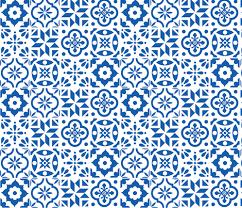 Pattern In Spanish Beauteous Spanish Tile Pattern larger size fabric elizajanecurtis