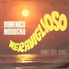 Domenico Modugno Meraviglioso 7″ RCA Italiana – PM 3437 Italy 1968 VG+/VG+
