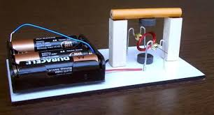 simple electric motor with switch. Motor With 2 Magnets - Design #1 Simple Electric Switch N