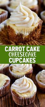 Carrot Cake Cheesecake Cupakes Crazy For Crust