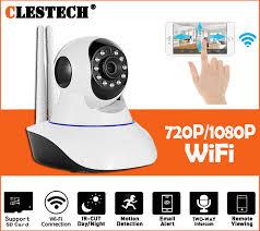 Wireless IP Camera 720P 1080P WiFi Network Security Audio Video ...
